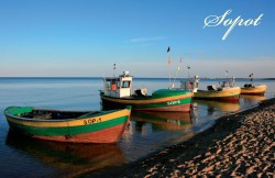 Boats in Sopot