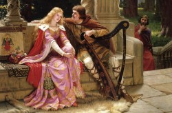 Tristan and Isolde Postcard