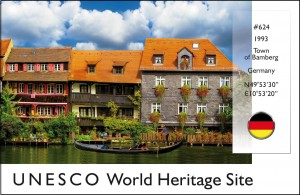 UNESCO - The Town of Bamberg Postcard