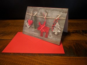 Season's Decorations Greeting Card