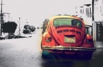 Vintage Beetle Car