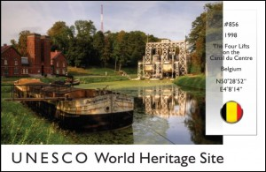 UNESCO - Lifts on Canal du Centre