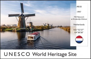 UNESCO - Mill Network Postcard