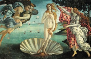 The Birth of Venus by Botticelli Postcard