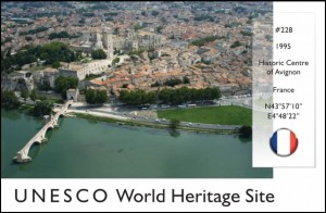 UNESCO - Historic Centre of Avignon Postcard