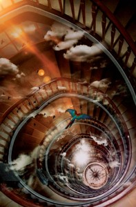 Stairways to Heaven Postcard