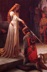 Edmund Blair Leighton, Accolade