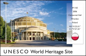 UNESCO - Centennial Hall Postcard