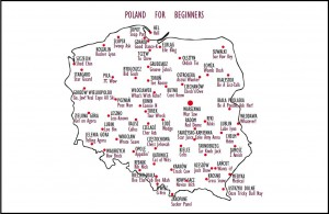 Poland for Beginners Postcard