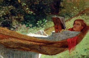 Woman Reading in a Hammock - Winslow Homer