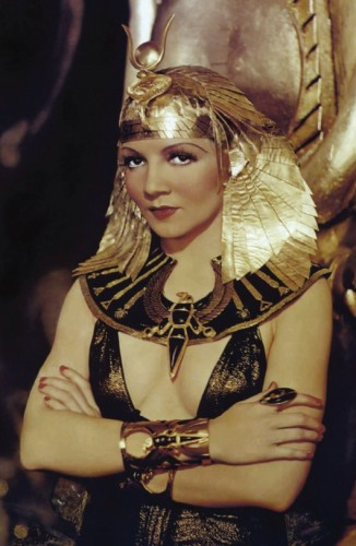 Claudette Colbert as Cleopatra Postcard