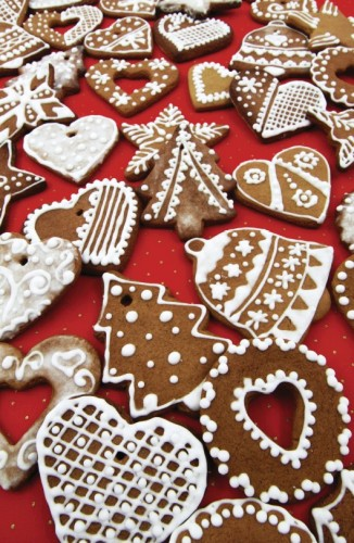 Ginger Bread Cookie Postcard